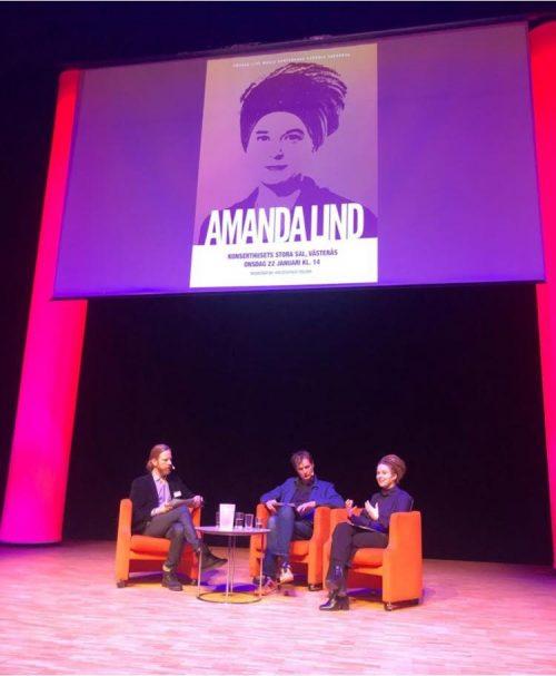 """Bild och länk till artikeln Kultur- demokrati och idrottsminister Amanda Lind under Sweden Live Music Conference: """"Jag vill se myllrande städer och samhällen där kulturen har en självklar plats!"""""""