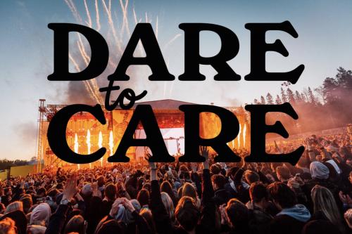 Bild och länk till artikeln Ett 50-tal festivaler, klubbar och arrangörer går med i Dare to Care-satsningen!
