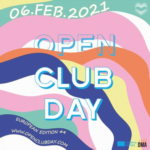 Bild och länk till artikeln [Open] Club Day 2021 – Var del av en europeisk rörelse för klubbar och venues