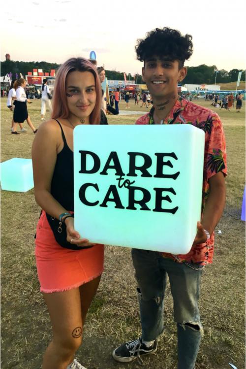 Bild och länk till artikeln Dare to Care samlar arrangörer i Småland @ Rookiefestivalen!