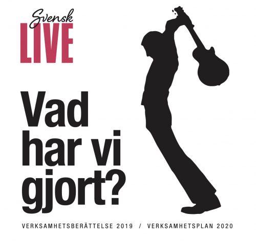 Bild och länk till artikeln Välkommen till årsstämma för Svensk Live i samband med Sweden Live Music Conference 2020