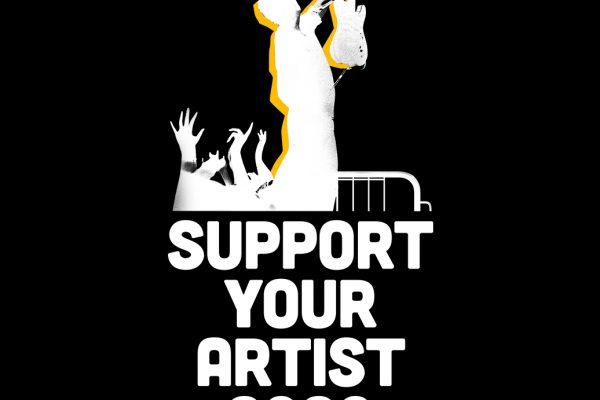 Bild och länk till artikeln Pressmeddelande: Livemusiken har tystnat för att rädda liv.  Nu måste vi tillsammans rädda musiken!
