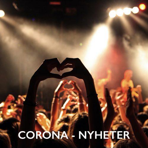 Bild och länk till artikeln Coronaviruset och publika evenemang – uppdatering 30 juni: Besked om förlängt arrangörsstöd tidigast i mitten av augusti