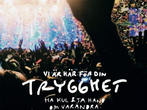 """Bild och länk till artikeln Utvärdering visar: Samverkan inom """"Trygga och säkra evenemang"""" ger färre brott på festivaler"""